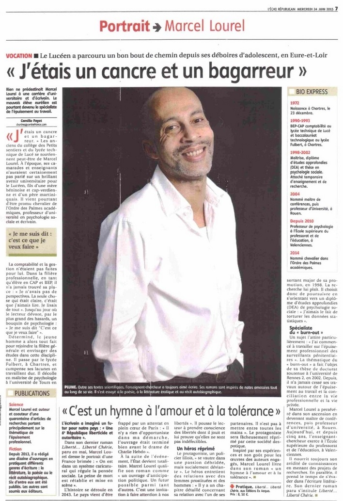 article écho M Lourel